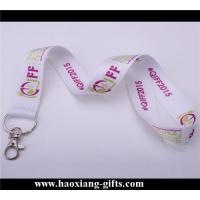 China hot sale good quality Custom your own logo and size blank polyester lanyard wholesale