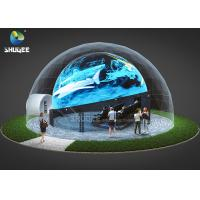 China 360 Mmersive Projection Dome Movie Theater With 16 Chairs Built On Playground wholesale