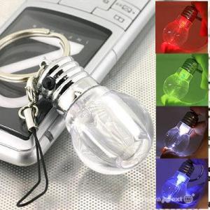 China Colorful Bulb-Shaped Key ring wholesale