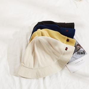 China Different color Custom Hat for Winter Adult Unisex Style Terry Towel Bucket Hats wholesale