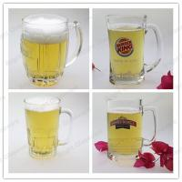 China high quality glass beer mug widely use in hotel & pub wholesale