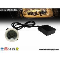 China Rechargeable Emergency Mining Cap LED Lamp , 1.11W 300mA Mining Headlamp wholesale