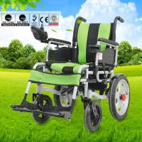 China Spray Steel Material Small Electric Wheelchair For Indoors Folding Function wholesale