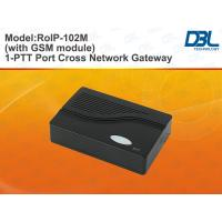 Buy cheap Black SIP VLAN / Qos Radio Over IP Gateway DDNS Supported , RoIP102M from wholesalers