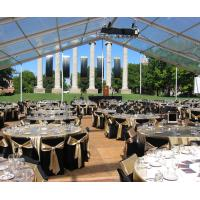 China Sound-Proof Waterproof Conference Clear Span Structure Tent For 100 People wholesale