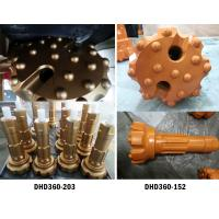 China 6 inch High Air Pressure DHD360 drill bit and hammer for Down the hole rock drilling wholesale