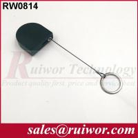 Wholesale 2.8x2.8x0.8Cm Box Ipad Retractable Security CableWith Demountable Key Ring from china suppliers