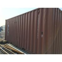 China 33 Cbm Steel 20 Foot Storage Container For Cargo Shipping / Intermodal Transport wholesale