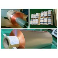 China 35um FCCL Copper Sheet Roll , 1oz Thickness 300mm Width Copper Foil Sheet wholesale
