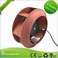 China Floor Ventilation 24V DC Centrifugal Blower Fan With PAM / PWM Control wholesale
