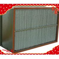 China 1220x610x220mm stainless steel (SUS304 316L) metal frame high temperature HEPA filter wholesale