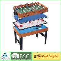Modern foosball 4 in 1 games table muti color for for Table games for adults