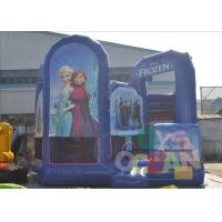 China Funny Giant Inflatable Bouncer Combo For Kids Frozen Inflatable Obstacles Castle Jumping Combo wholesale