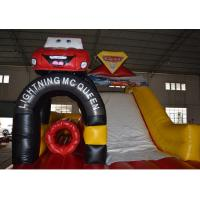 China inflatable kdis car toy bouncer jumping for sale wholesale