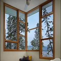 China White/Grey/Grown/Black/Wooden Color Fixed Aluminum Window wholesale