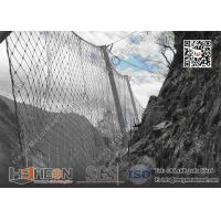 China Passive SNS Rockfall Mesh Fencing System   China Rockfall Catch Barrier Factory wholesale