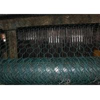 Quality Foldable Reno Gabion Wire Mesh Green Color PVC Coated Wire Mesh Mattress for sale