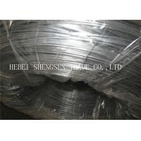 China Bird Cage Hot Dipped Galvanized Wire BWG 22 8kg / Roll Galvanised Iron Wire wholesale