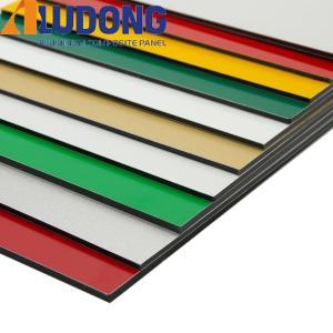 China PE Colorful Acp Aluminium For Modern Architecture Wall Cladding wholesale