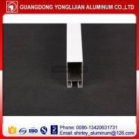 China Powder coated aluminum window frame extrusion in China on sale