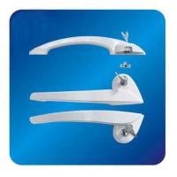 China Custom Arc ABS Freezer Door Handle Hardware for cooler with Lock 260mm on sale