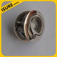 China Stainless Steel 316 Marine Boat flush pull hatch latch lift handle on sale