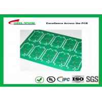China RoHS Single Layer Custom Printed Circuit Board  FR4 Lead Free HASL IPC Standard wholesale