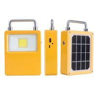 Quality LED Rechargeable Floodlight Solar Powered Floodlight USB Type C Charging 5V 2A for sale