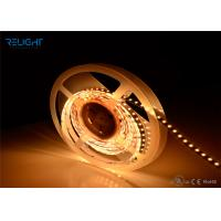 China UL Listed Dimmable IP20 4.8w 12VDC Warm White Led Strip Lights 3528 Smd Led Strip wholesale