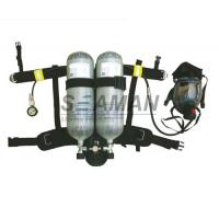 China Marine EC / MED Ship's Wheel Mark Air Breathing Apparatus With Two Cylinder / SCBA Set on sale
