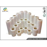 China Full Color Stretch Film Jumbo Roll , Industrial Packing Materials For Pallet Wrap wholesale