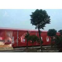 Popular Red Color 20m Width Luxury Wedding Party Tent Marquee with Top and Wall for sale