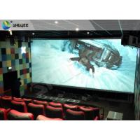 China 4D Home Theater Cinema System Theater Chairs With Software Hardware wholesale