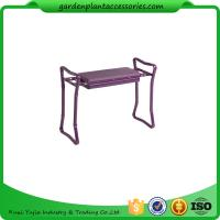 "China Garden Deep Seat Garden Kneeler Bench With 3 / 4"" Thick Foam Pad wholesale"