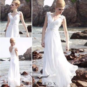 China custom white sleeveless long quinceanera prom dresses wholesale