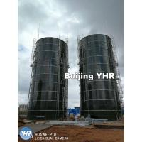 Pre Fabricated Vertical Storage Tank Glass Fused To Steel Material