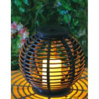 China Plastic Material Solar Garden Lights , Solar Outdoor Lighting With Natural Looking wholesale