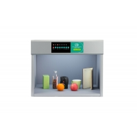 China B6006 Metal color assessment cabinet with D65/TL84/TL83/CWF/UV/F color light box used in plastic,ink,comestic,printing wholesale
