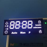 China Ultra  white Customized oven led display  with 120 degree operating temperature wholesale