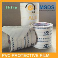 China Durable Kitchen Cabinet Protection Film , 80MIC Mikly White PVC Stretch Film on sale