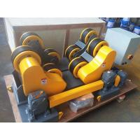Buy cheap 20T 30T Pipe Rollers For Welding , Self Aligning Heavy Duty Pipe Roller Stands from wholesalers