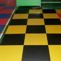 Quality 3W Industrial Heavy Duty Flooring /Interlocking PVC garage flooring tiles for sale