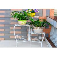 China Beautiful Decorative Outdoor Furniture Metal Flower Rack / Flower Hanger Stand wholesale