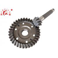 China Tricycle Gearbox Spare Parts / Crown Wheel Pinion Gear 20CrMnTi Material Made wholesale