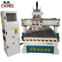 China CA-1325 3 heads milling machine cnc with 1300*2500mm/cnc pneumatic head machine 3 spindles cnc machine wholesale