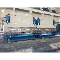 800 Ton Cylinders Shear Press Brake Electro Hydraulic Synchronous