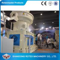 China 4-12mm Wheat Straw Pellet Machine , Vertical Ring Die Pellet Mill Equipment wholesale