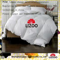 Buy cheap Buy chinese developed Temperature Regulating cotton quilt with phase change from wholesalers