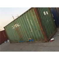 China 20 Ft Metal Storage Containers / International Container 28000kg Payload wholesale