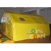China Custom Colour / Size Inflatable Tents PVC Tarpaulin Outdoor Large Camping Tent wholesale